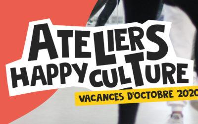 Ateliers Happyculture • Vacances d'octobre 2020