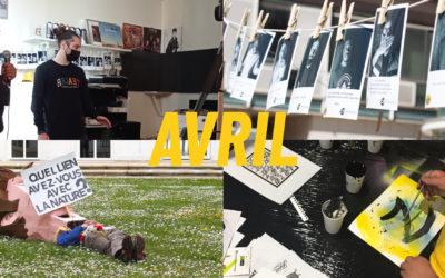 Un mois d'Avril à La Ruche