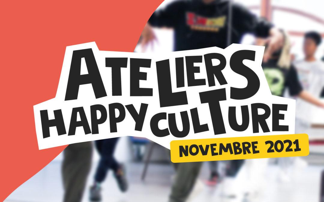 Ateliers Happyculture • Novembre 2021